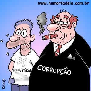 corrupcao x honestidade